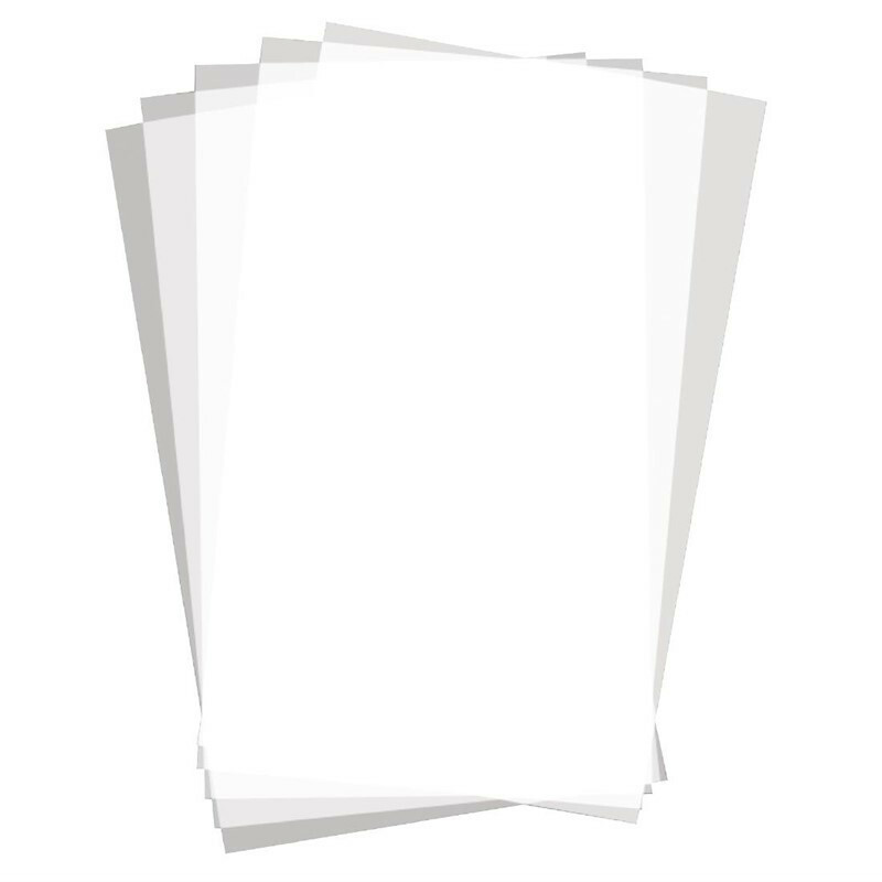 vetvrij papier blanco 25,5 x 40,6 cm DOOS 500