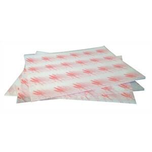 vetvrij papier hamburger rood 24,5 x 30 cm DOOS 1000