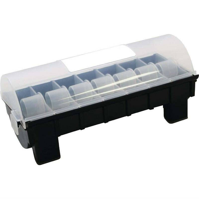 HACCP stickerdispenser kunststof voor 24 x 24 mm stickers