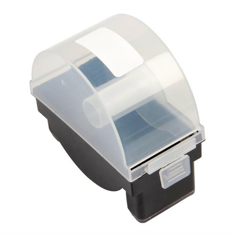 HACCP stickerdispenser enkelvoudig kunststof voor 50 x 60 mm stickers
