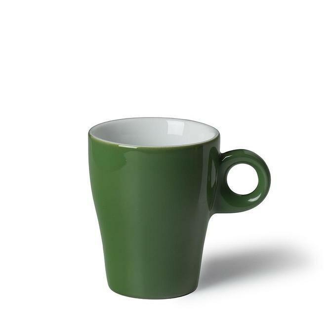 Langenthal Gino koffiekop 19 cl hoog donkergroen