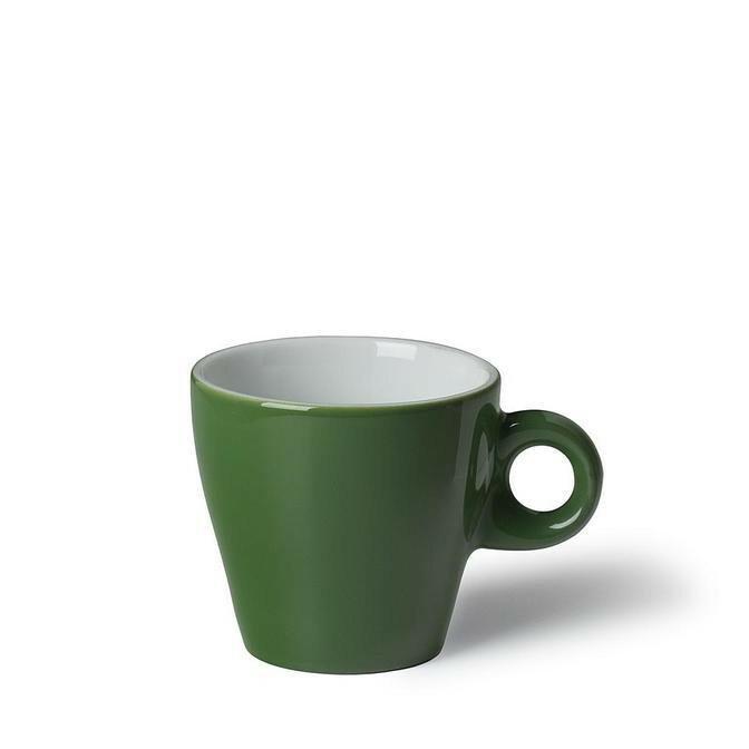 Langenthal Gino koffiekop 18 cl laag donkergroen