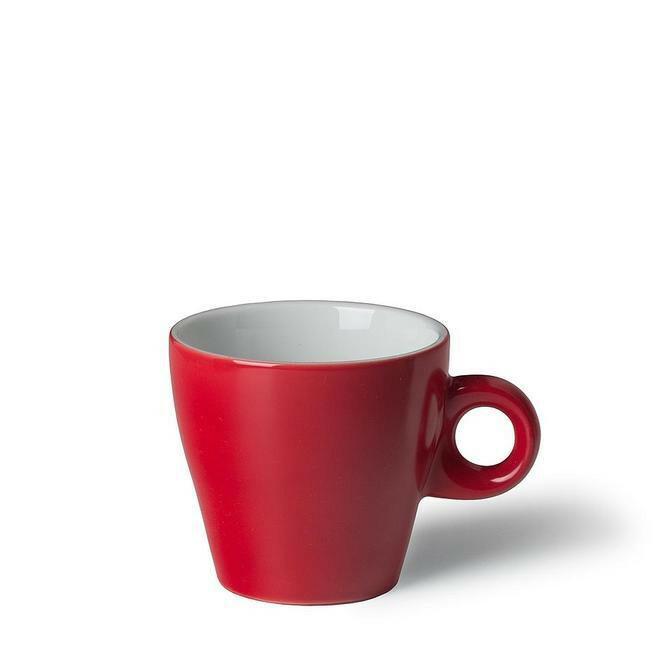 Langenthal Gino koffiekop 18 cl laag rood
