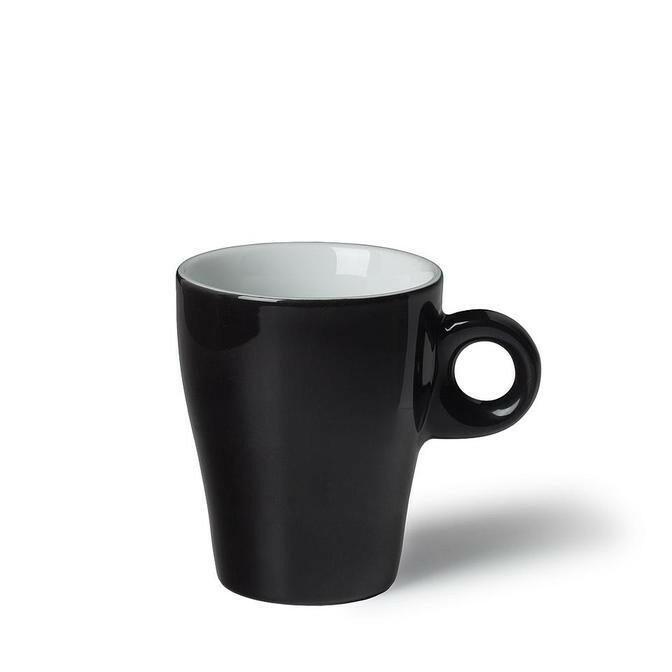 Langenthal Gino koffiekop 19 cl hoog zwart