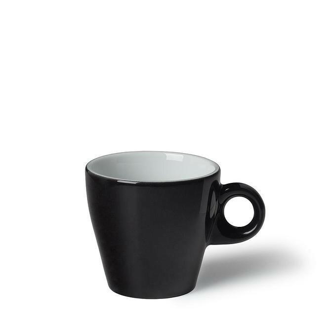 Langenthal Gino koffiekop 18 cl laag zwart