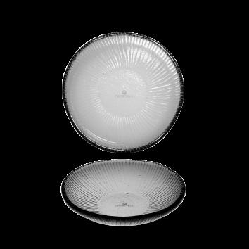Churchill Bamboo Glass organic bord plat 22,5 cm
