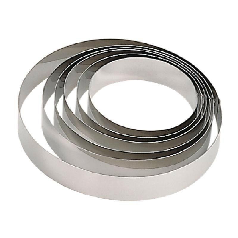 De Buyer mousse ring Ø 24 cm hoog 6 cm