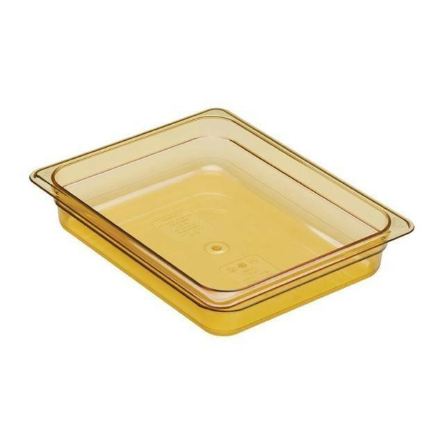 Cambro GN bak hittebestendig polycarbonaat GN 1/2 diep 6,5 cm