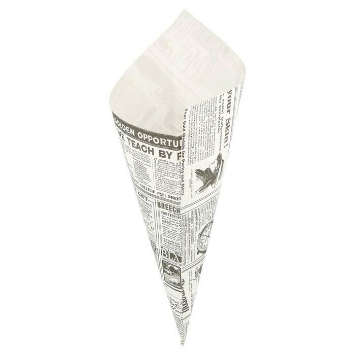 vetvrij papier puntzak Times 29,5 x 21 cm DOOS 250