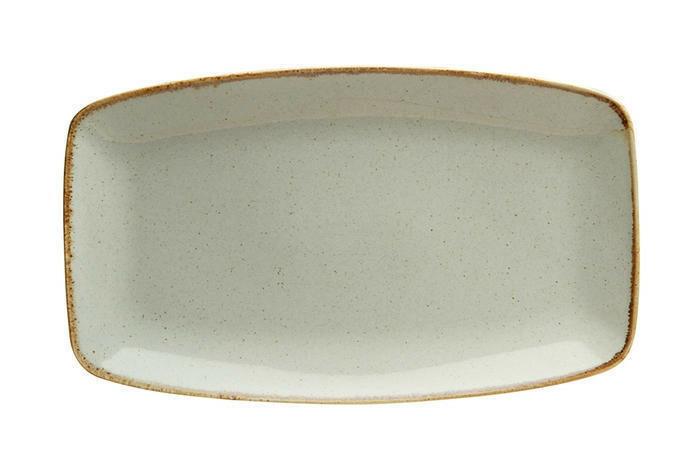 Porland Seasons Grey oblong bord 31 x 18 cm