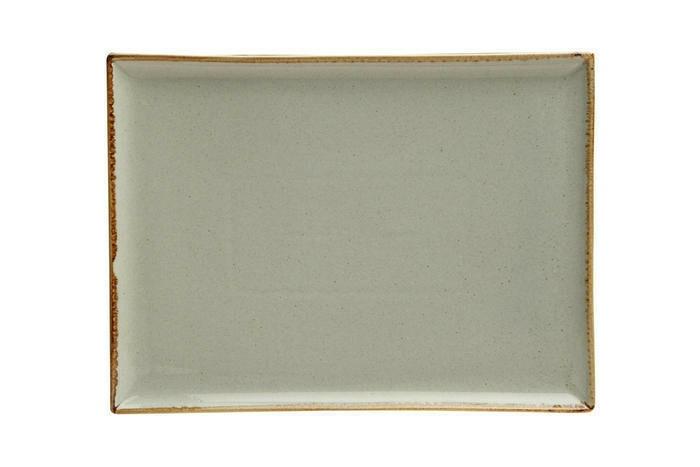 Porland Seasons Grey oblong bord 27 x 21 cm