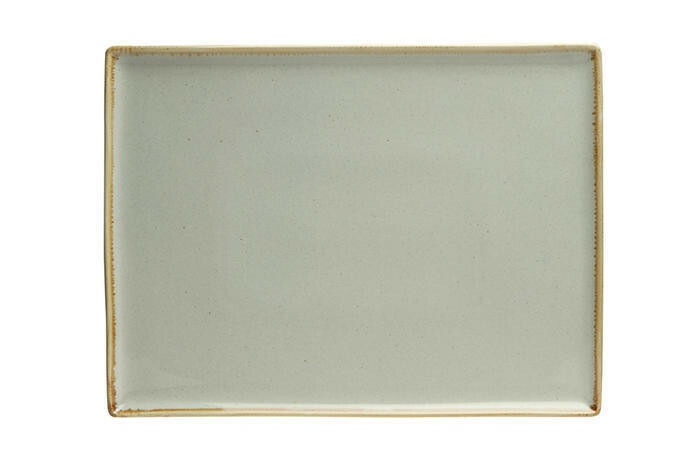 Porland Seasons Grey oblong bord 35 x 25 cm