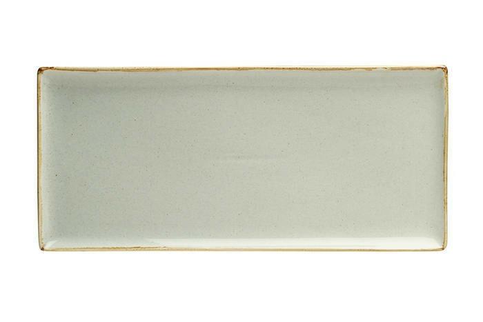 Porland Seasons Grey oblong bord 35 x 16 cm