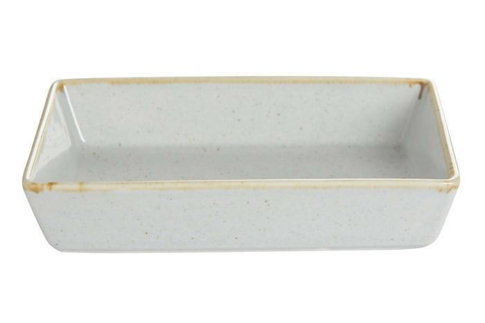 Porland Seasons Grey mezze schaaltje rechthoek 16 x 11 cm