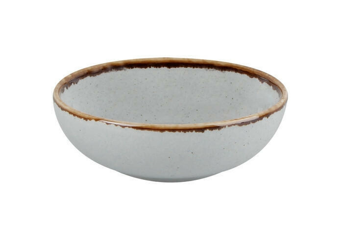 Porland Seasons Grey bowl laag 10 cm 9,5 cl