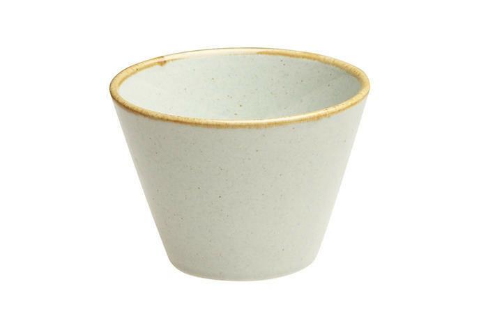 Porland Seasons Grey bowl conisch 9 cm 20 cl