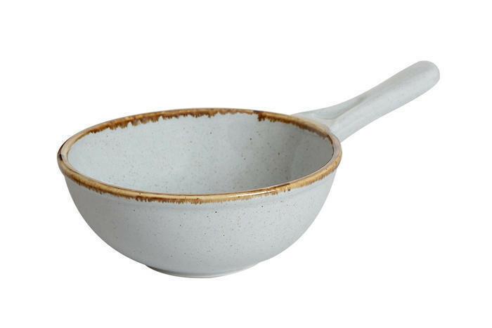 Porland Seasons Grey bowl met steel 16 cm