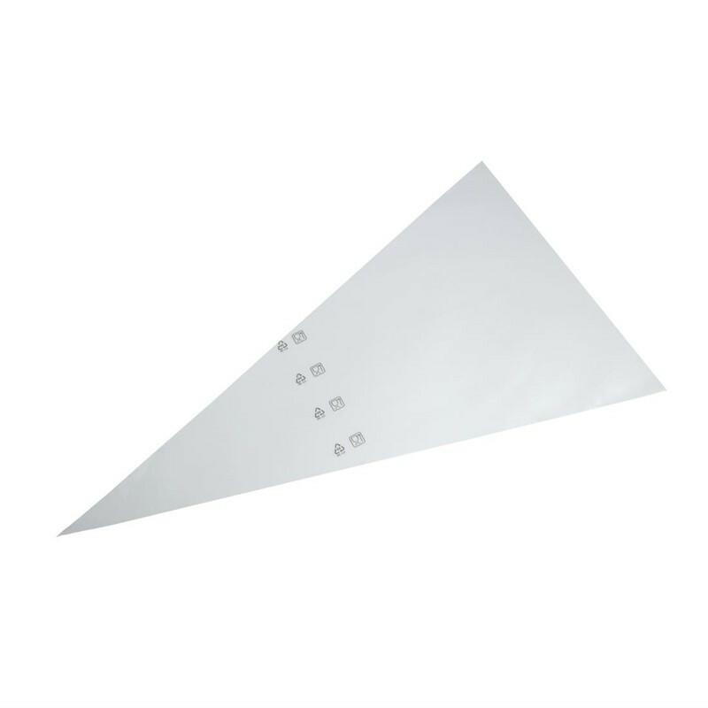 Schneider wegwerpspuitzakken 54,5 cm WIT DOOS 100