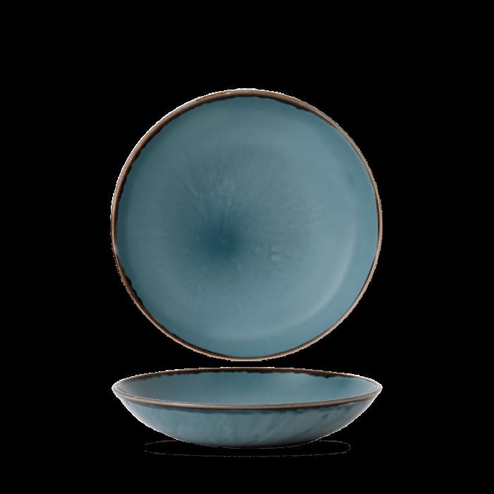 Dudson Harvest Blue coupe bowl 24,8 cm