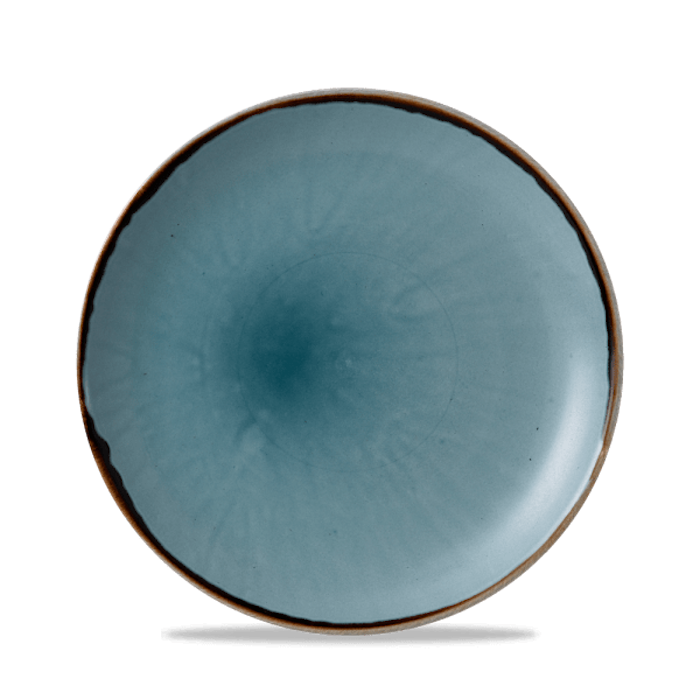 Dudson Harvest Blue coupe bord 21,7 cm
