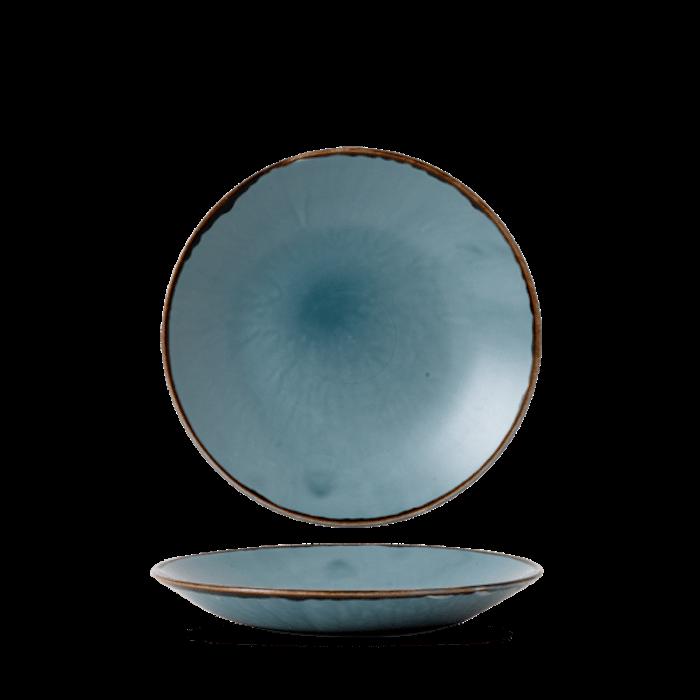 Dudson Harvest Blue diep coupe bord 25,5 cm