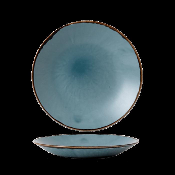 Dudson Harvest Blue diep coupe bord 28,1 cm