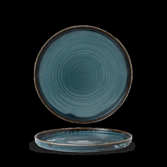 Dudson Harvest Blue walled plate 26 cm