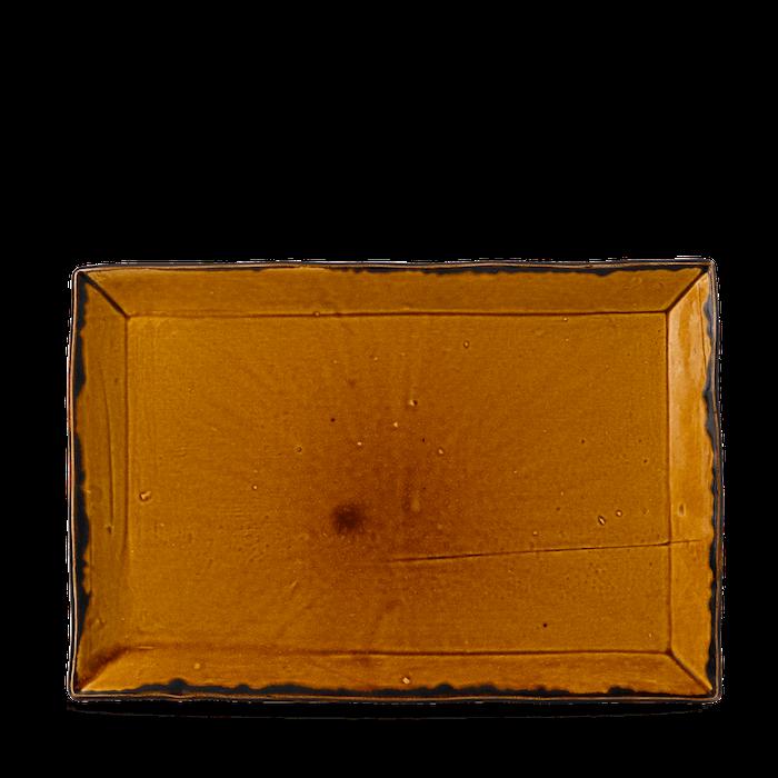 Dudson Harvest Brown chefs' rectangular tray 28,7 x 19 cm