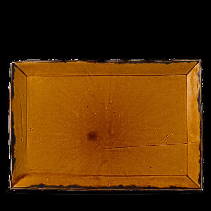 Dudson Harvest Brown chefs' rectangular tray 34,5 x 23,3 cm