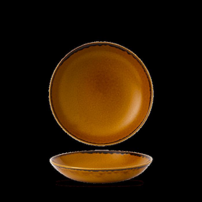 Dudson Harvest Brown coupe bowl 18,2 cm