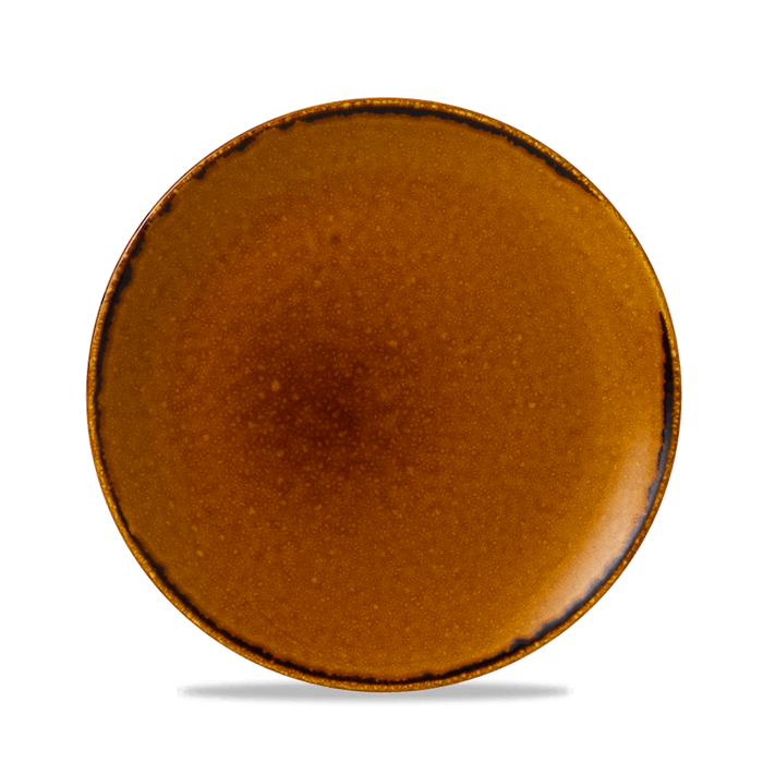 Dudson Harvest Brown coupe bord 21,7 cm
