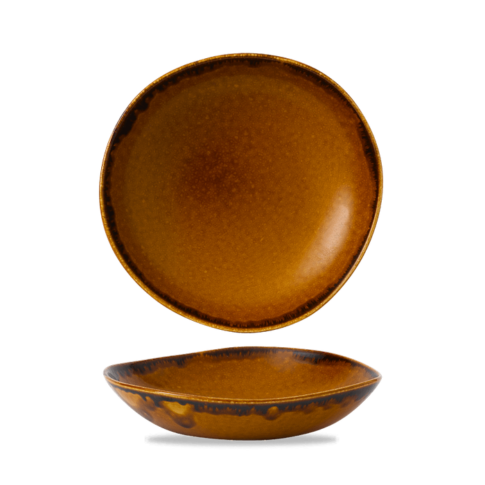 Dudson Harvest Brown organic bowl 25,3 cm