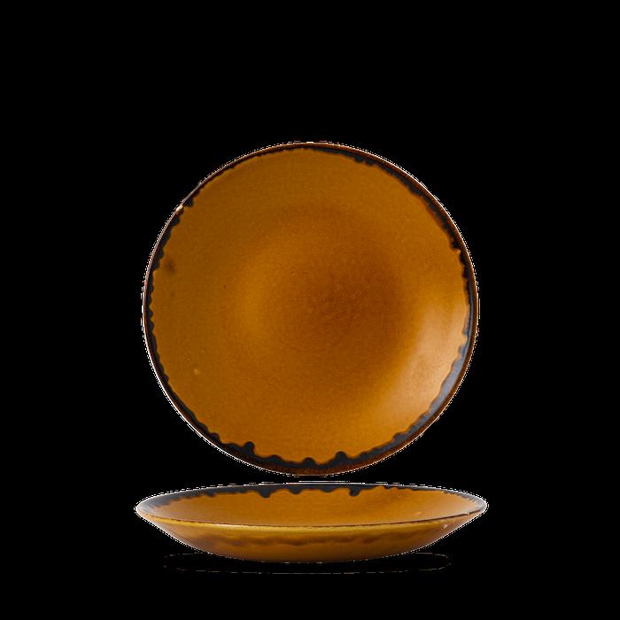 Dudson Harvest Brown diep coupe bord 25,5 cm