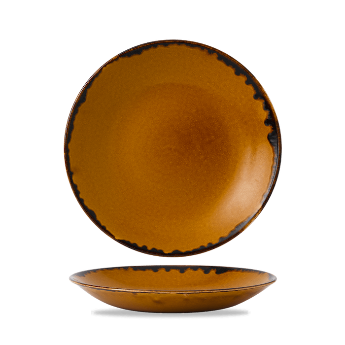 Dudson Harvest Brown diep coupe bord 28,1 cm