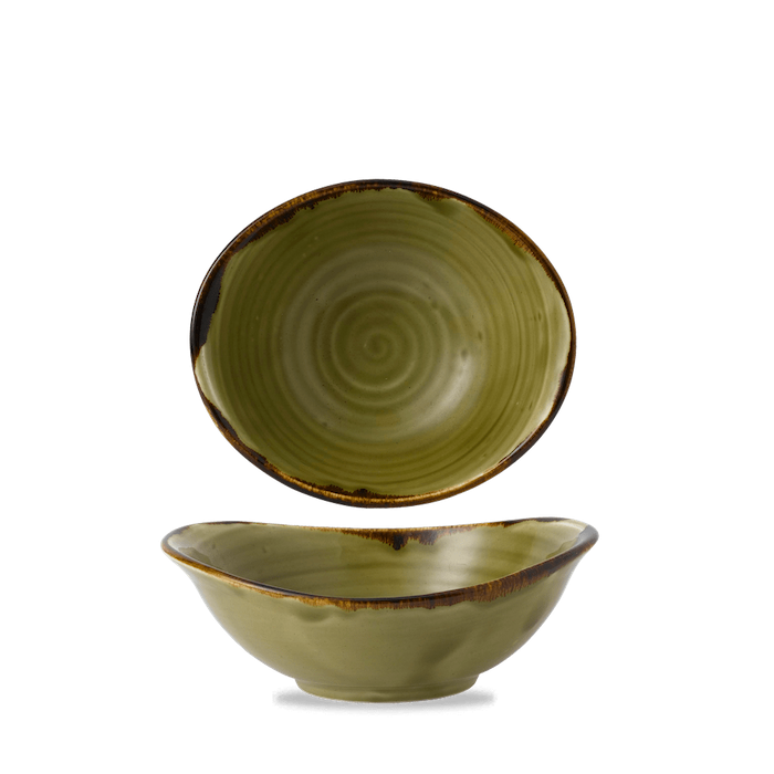 Dudson Harvest Green bowl 19,9 x 16,8 cm