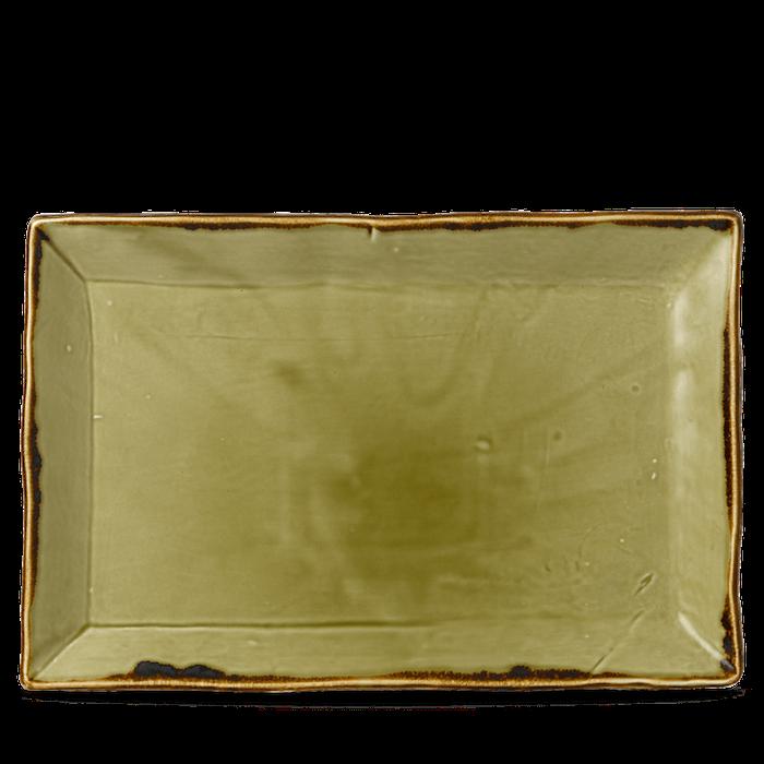 Dudson Harvest Green chefs' rectangular tray 34,5 x 23,3 cm