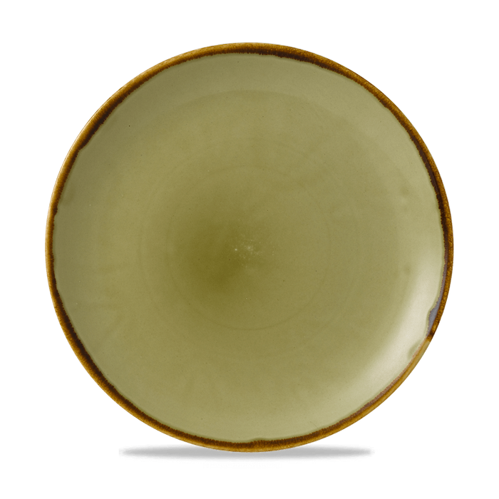 Dudson Harvest Green coupe bord 26 cm