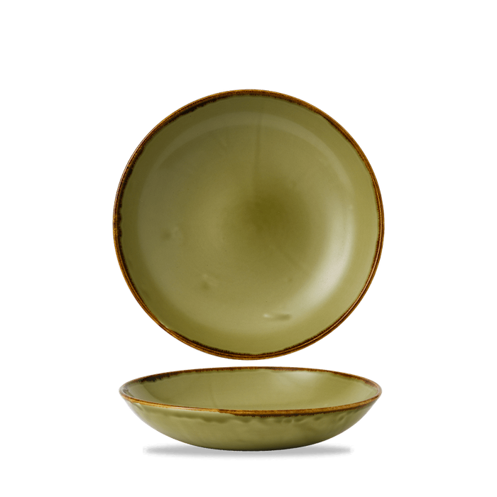 Dudson Harvest Green coupe bowl 24,8 cm