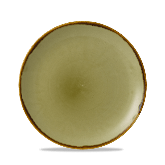 Dudson Harvest Green coupe bord 21,7 cm