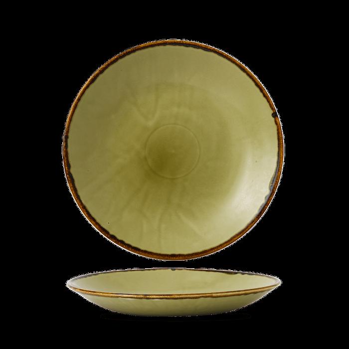 Dudson Harvest Green diep coupe bord 28,1 cm