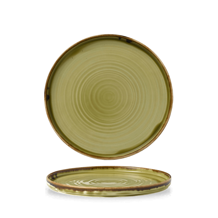 Dudson Harvest Green walled plate 21 cm