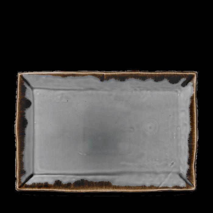 Dudson Harvest Grey rectangular tray 28,7 x 19 cm
