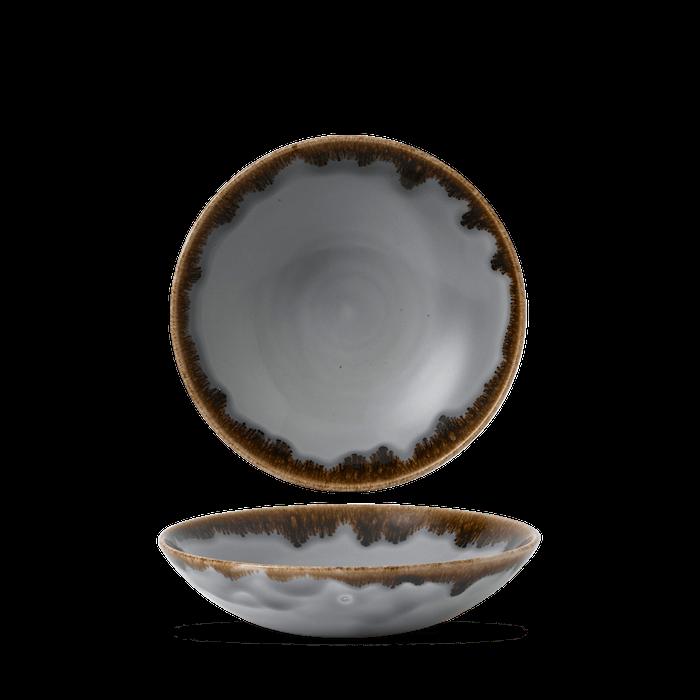 Dudson Harvest Grey coupe bowl 18,2 cm