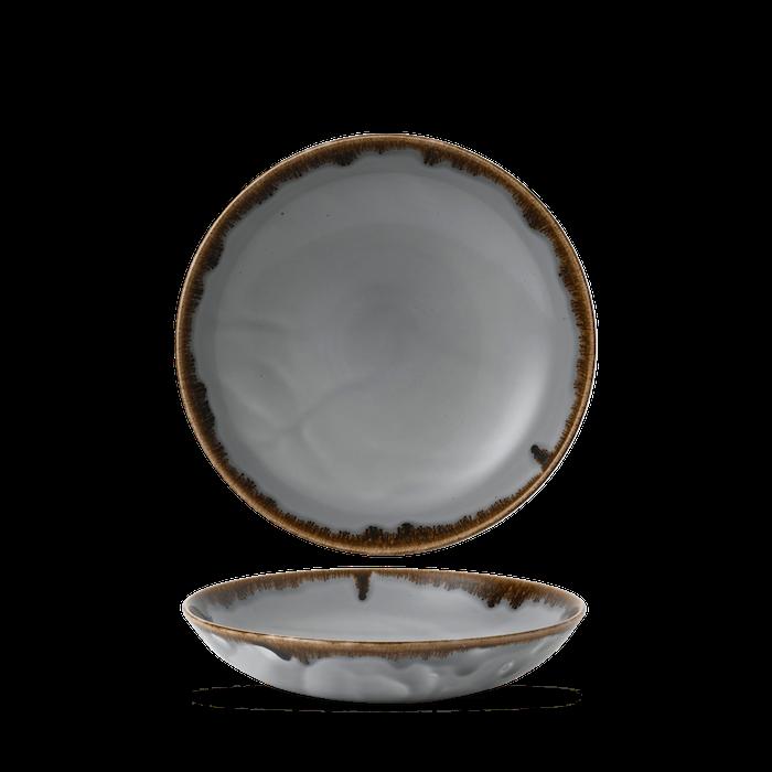 Dudson Harvest Grey coupe bowl 24,8 cm