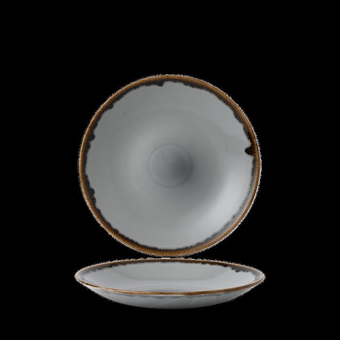 Dudson Harvest Grey diep coupe bord 25,5 cm