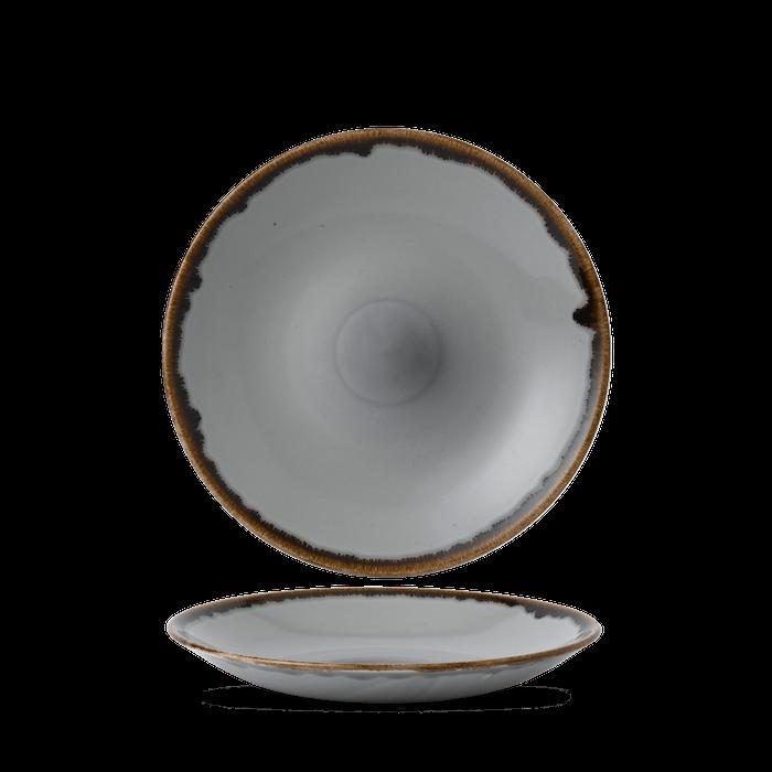Dudson Harvest Grey diep coupe bord 28,1 cm