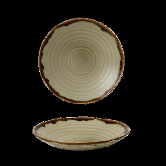 Dudson Harvest Linen organic coupe bowl 21 cm