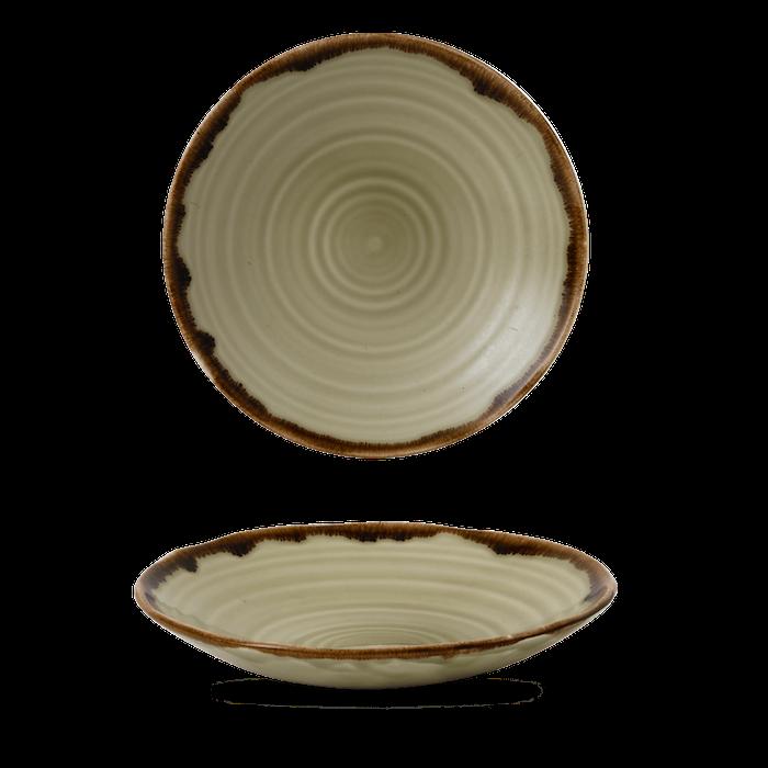 Dudson Harvest Linen organic coupe bowl 25 cm