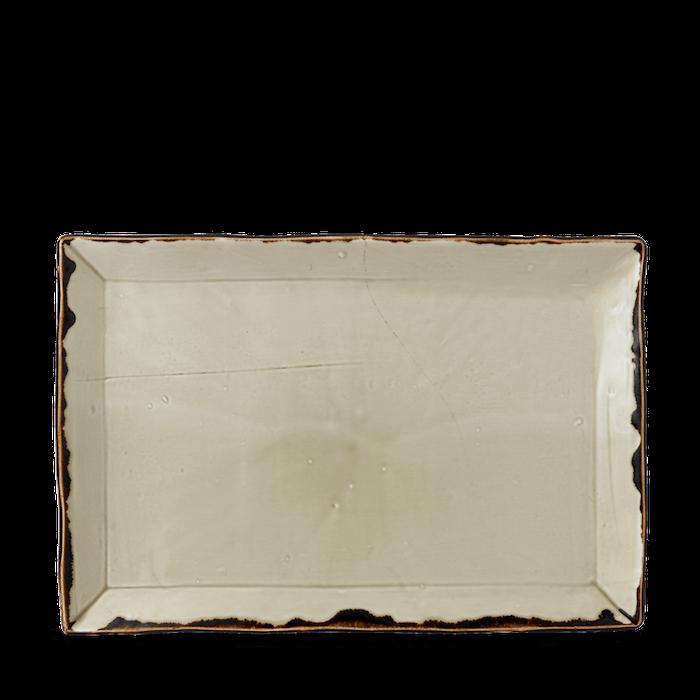 Dudson Harvest Linen chefs'rectangular tray 28 x 19 cm