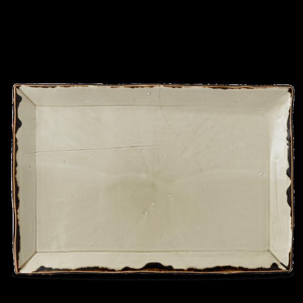 Dudson Harvest Linen chefs'rectangular tray 34,5 x 23,3 cm